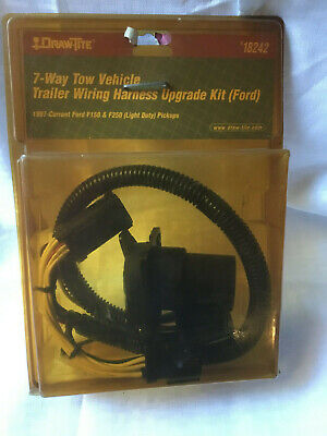 $ CDN29.63 • Buy Draw-tite 18242 7-Way Tow Vehicle Trailer Wiring Harness Upgrade Kit (Ford)