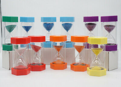 AU18.67 • Buy Minutes Sandglass Hourglass Timer Sand Clock Kitchen Timer Educational Tool Toy