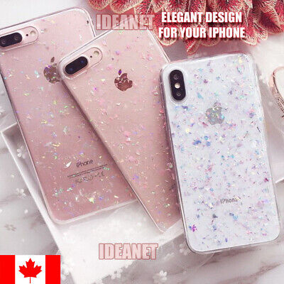 AU5.31 • Buy Cute Bling Glitter Silicone Slim Soft Case Cover For IPhone 6/6S 7/8 Plus XS XR