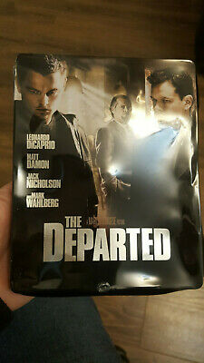 The Departed Blu Ray Steelbook - Scorsese & Dicaprio • 13.89£