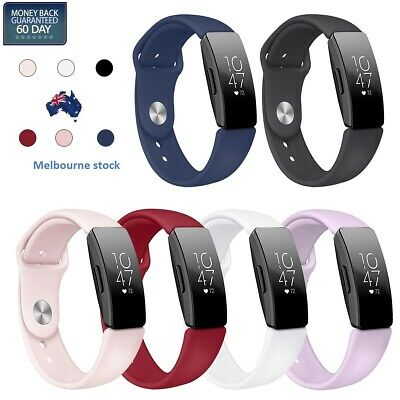AU6.99 • Buy Fitbit Inspire/inspire HR Replacement Silicone Watch Sports Band Strap Wristband