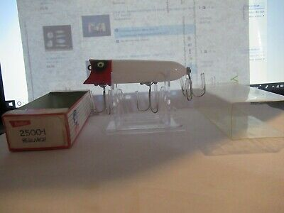 $ CDN66.76 • Buy Vintage Heddon Lucky 13 Red Head Research Lure With Box 2500-I Very Rare!!!