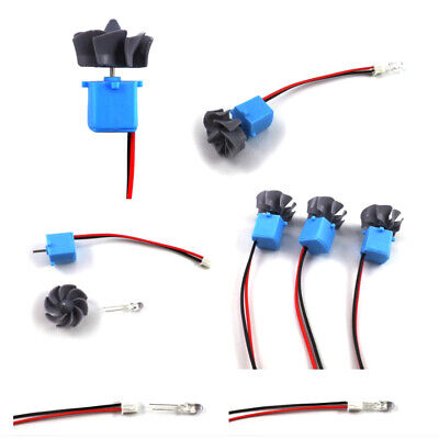 2 Pack Mini Wind Water Generator Motor Micro Wind Turbines Generator Kits • 7.95£