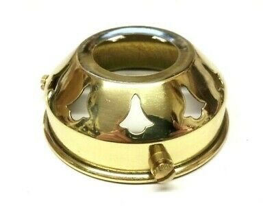 Brass Plated Light Shade Gallery 2 1/4 Inch To Fit A B22 Lamp Holder 28mm Hole • 9.99£
