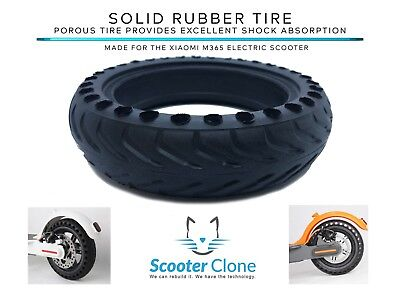 $24.99 • Buy *US SELLER* Solid Rubber Tire For BIRD Or Xiaomi M365  Electric Scooter 2 PACK