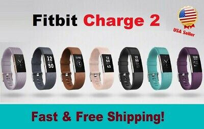 $ CDN74.96 • Buy Fitbit Charge 2 Heart Rate Monitor Fitness Wristband Activity Tracker All Colors