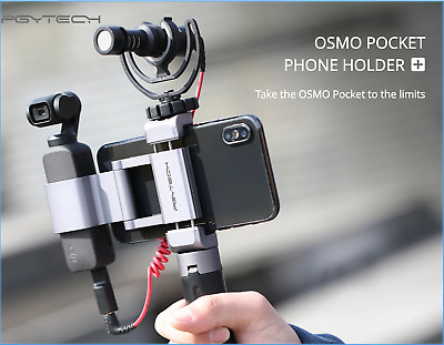 $59.99 • Buy DJI  Osmo Pocket Handheld 3 Axis Gimbal Stabilizer Tripod Phone Mount Aluminum