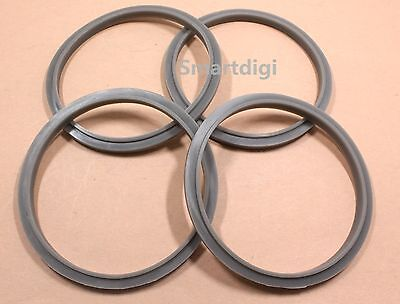 AU8.69 • Buy 4x NEW Gasket Seal Grey Ring For Nutri Bullet NUTRIBULLET 900 900W Blade & Cups