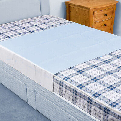 £12.75 • Buy Waterproof Absorbent Incontinence Bed Pad Mattress Protector, With Tucks