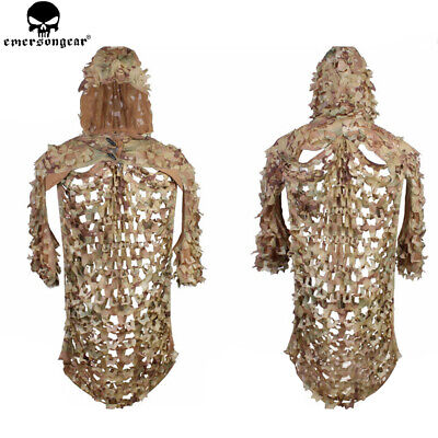 AU89.95 • Buy Leaf Ghillie Suit Camo Camouflage Sniper Clothing Jungle Forest Hunting Assault