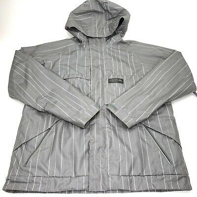 99729836b Burton Mens Snowboard Jacket Medium Dry Ride Size Medium Gray • 50.35$
