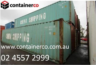 AU4115 • Buy Great Condition 40FT Shipping Container - Limited Quantity Includes GST