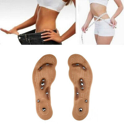 $ CDN6.06 • Buy 2pc Acupressure Magnetic Massage Foot Therapy Reflexology Pain Relief MindInSole