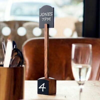 £14.99 • Buy Table Marker And Base With Chalkboard. Table Numbers. Wedding Decoration.