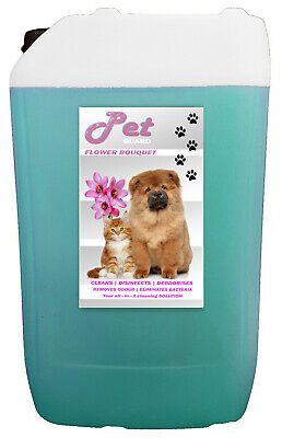 25L FLORAL Cattery Kennel Disinfectant Cleaner Pet GUARD • 21.29£