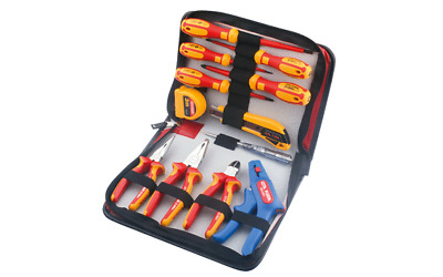 Ceta Form 12 Piece Electricians VDE Pliers And Screwdriver Tool Set / Tool Kit • 68.95£