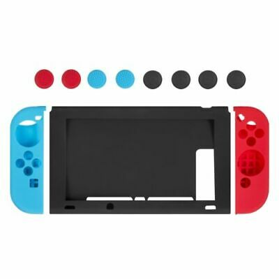 Nintendo Switch Anti-Slip Silicone Protective Skin Case Cover With Thumb Grips • 8.45$