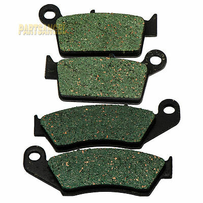 $12.58 • Buy Front & Rear Brake Pads For Kawasaki KX125 KX250 1995-2005 1996 1997 1998 1999