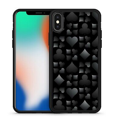 £5.99 • Buy Ace Of Spades Love Hearts Pattern Gambling Playing Card Game Soft Gel Phone Case