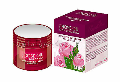 Rose Oil Of Bulgaria Multi Active Day Cream Age Control With Bulgarian Rose Oil • 12.20£