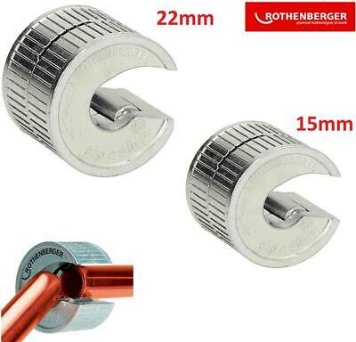 £25.05 • Buy Rothenberger Pipeslice Tube Cutter Pack - Includes 15mm & 22mm Pipeslice
