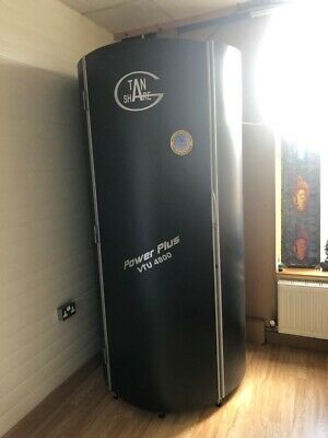 BARGAIN 2 X Tansun Viva Vertical Tanning Stand Up Sunbeds See Working In Gym • 2,000£