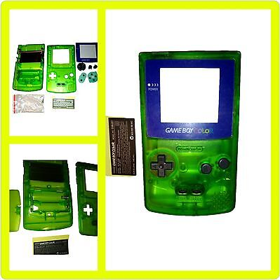 Able It Faceplates, Decals & Stickers Phonecaseonline Carcasa Gameboy Color Pikachu Green New Video Game Accessories