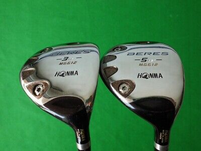 $ CDN630 • Buy HONMA® Fairway Wood: Beres MG612 3Star #3 & #5 Flex:R
