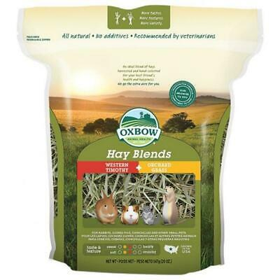 £12.25 • Buy Oxbow HAY BLENDS Timothy & Orchard Grass Natural Small Animal Rodent Food 1.1kg