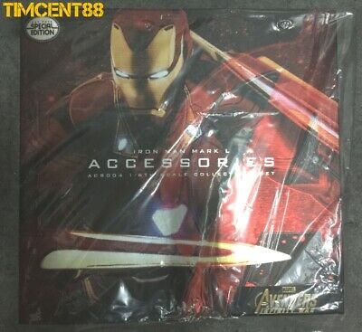 AU412.80 • Buy Ready! Hot Toys ACS004 Infinity War Iron Man Mark L 50 Accessories Set Special