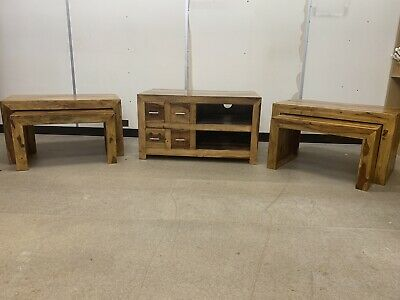 NEXT Oak Living Room Furniture • 273£