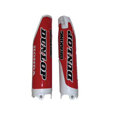 $32.95 • Buy  Honda Fork Guards CR125/250 CRF250/450 White W/Red Graphics 2004-2017