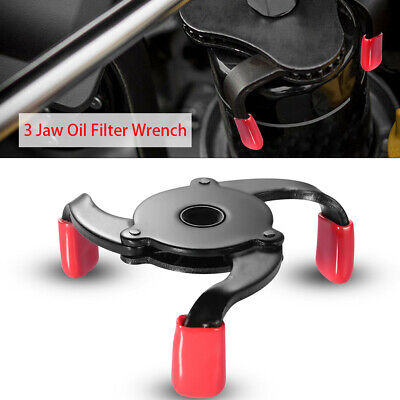 AU14.72 • Buy 1* Oil Filter Cap Wrench 2 Ways Low-Profile 3 Jaws Adjustable Spanner Remover BA