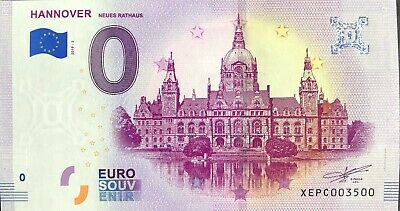 Ticket 0 Zero Euro Souvenir Hannover Germany 2019 Number 3600 • 7.94£