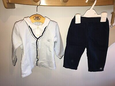 Emile Et Rose Boys Two Piece Trouser And Top Set Age 12 Months • 10£