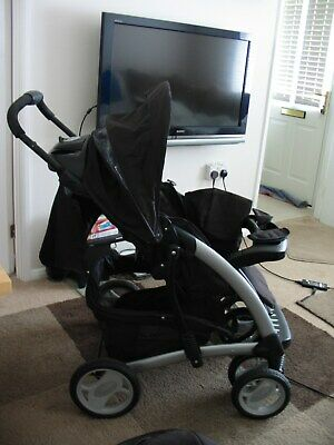 Graco  Travel System Single Seat Stroller & Car Seat • 42£