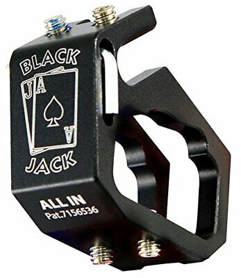 Blackjack All IN Firefighter Helmet Aluminum Flashlight Holder • 32$