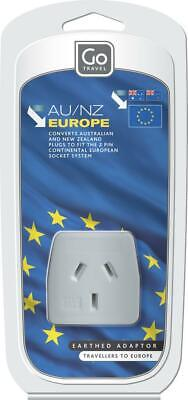 AU7.65 • Buy Go Travel Australia/New Zealand To European Adaptor Travel Luggage