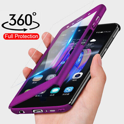 AU5.70 • Buy 360°Full Protection Tempered Glass+PC For OPPO A83 A79 A57 A37 A1Back Case Cover