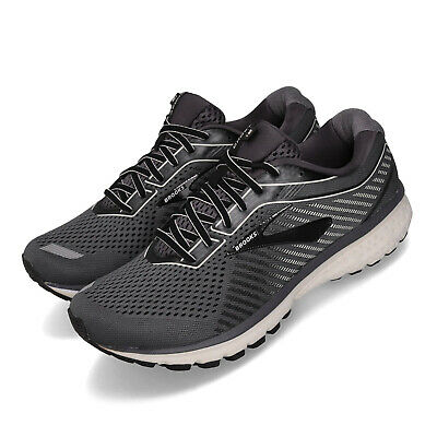 AU189 • Buy Brooks Ghost 12 2E Wide Black Grey White Men Running Shoes Sneakers 110316 2E