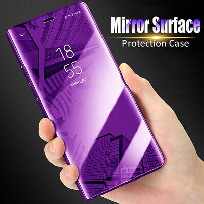 AU7.72 • Buy For OnePlus 7 Pro 6T 5T Smart Clear View Mirror Flip PC Leather Stand Case Cover