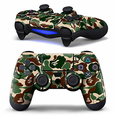 AU4.75 • Buy Controller Decal Skin Stickers Cover For PS4 Playstation 4 Game Accessories