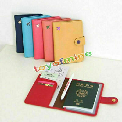 AU7.21 • Buy Travel Wallet Organiser Pouch Passport Holder Cover ID Card Case Bag