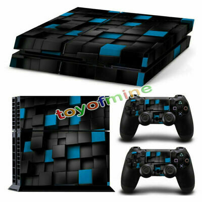 AU6.81 • Buy Vinyl Skin Sticker Cover Wrap Decal For PS4 Playstation 4 Console + 2 Controller