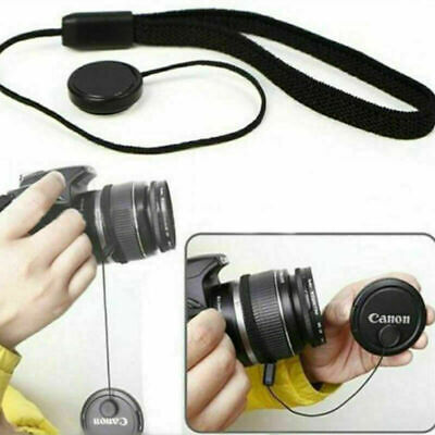 AU4.05 • Buy Lens Cover Cap Holder Keeper String Leash Strap Rope For Canon Nikon Sony Camera