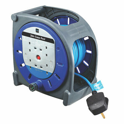 £44.99 • Buy Extension Lead Masterplug 13a 4-gang 20m Cable Reel