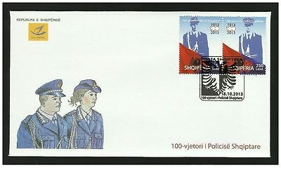 $ CDN13.35 • Buy Albania 2013. 100th Anniversary Of Albanian Police. FDC MNH