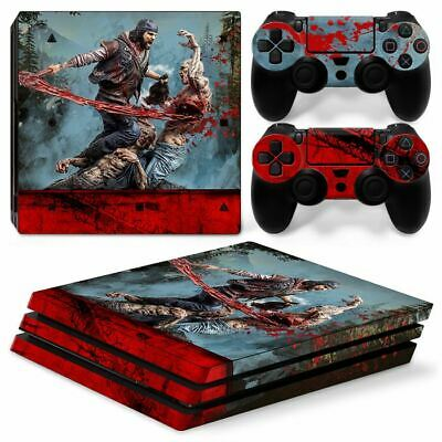 AU32.13 • Buy PS4 Pro Playstation 4 Console Skin Decal Sticker Days Gone + 2 Controller Skins