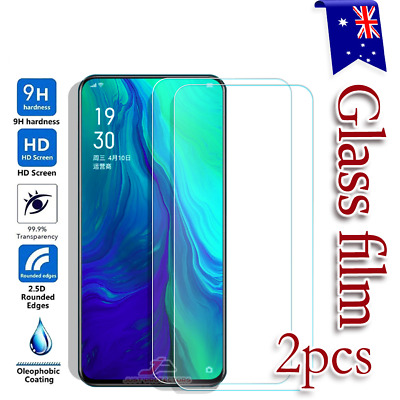 AU5.95 • Buy 2x Oppo Reno Z Reno 10X Zoom 5G 9H Tempered Glass Screen Protector Film Guard