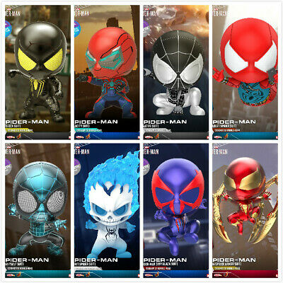 $ CDN41.79 • Buy PRE Hot Toys COSBABY Marvel Spiderman Bobble-Head MIni Doll Figure Collection